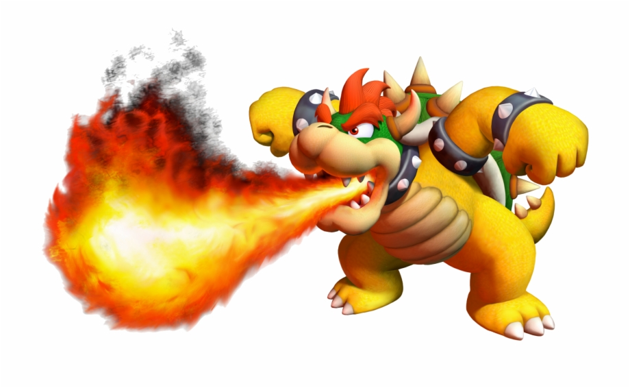 Mario Bowser Fire Transparent Png Download 2427707 Vippng