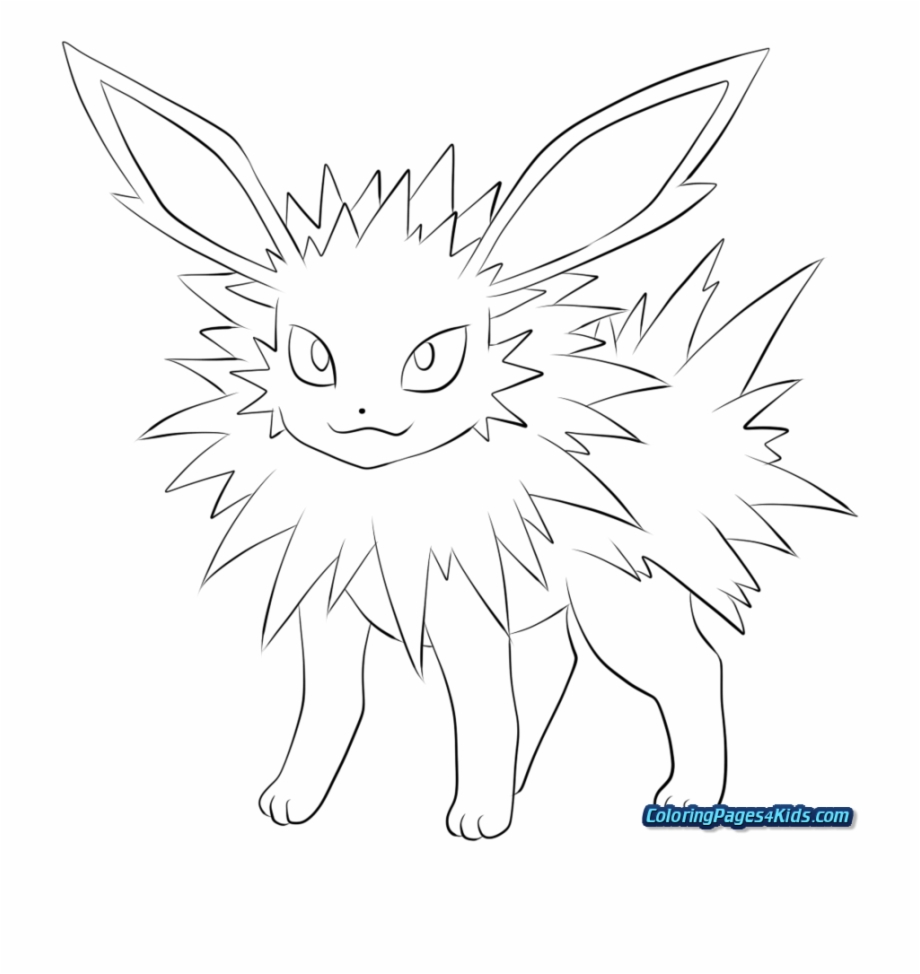 Pokemon Coloring Pages All Eevee Evolutions Eevee Evolution Pokemon Coloring Pages Eevee Transparent Png Download 2436964 Vippng