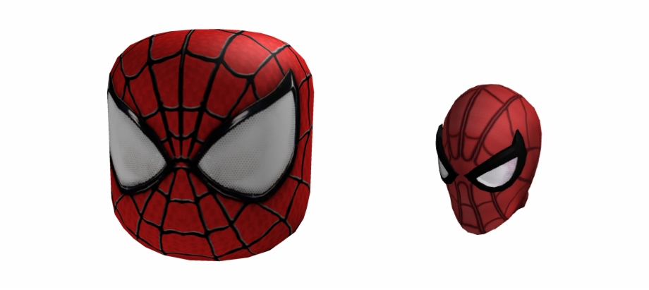 Another Spider Man Mask Spider Man Homecoming Roblox Transparent Png Download 2443371 Vippng