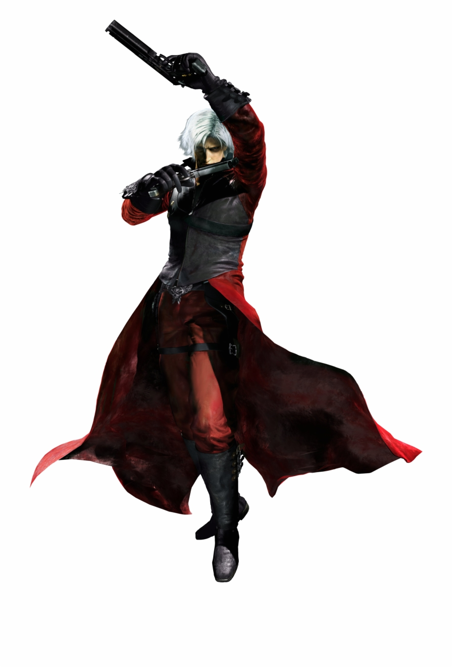 Dante Devil May Cry 2 Dante Outfit Transparent Png
