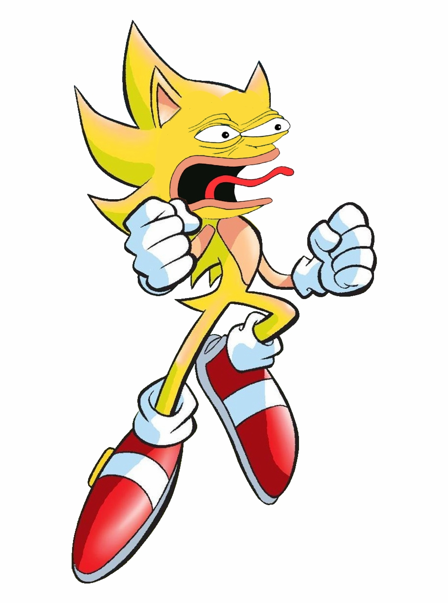 Pepe The Hedgehog Has All Chaos Memeralds Super Sonic 2d