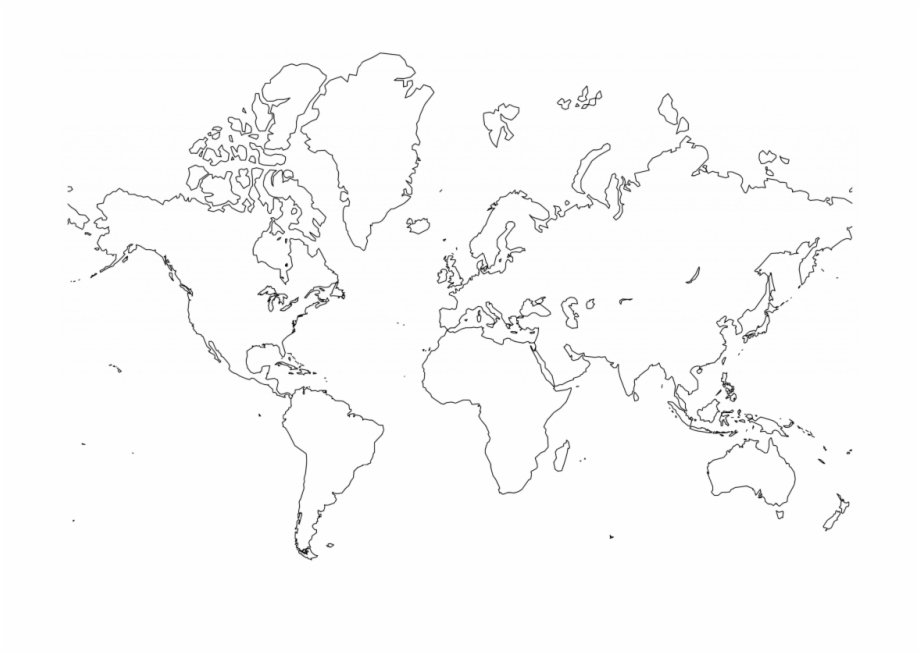 World Map With Countries Clipart Great Free Clipart - High ...