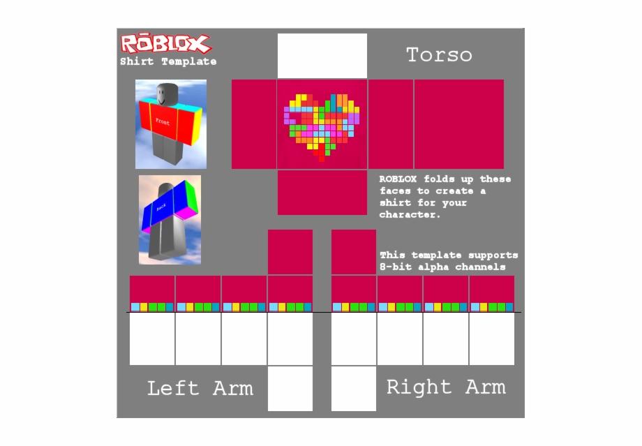 2017 Shirt Template Roblox 49853 Roblox Heart Shirt Template