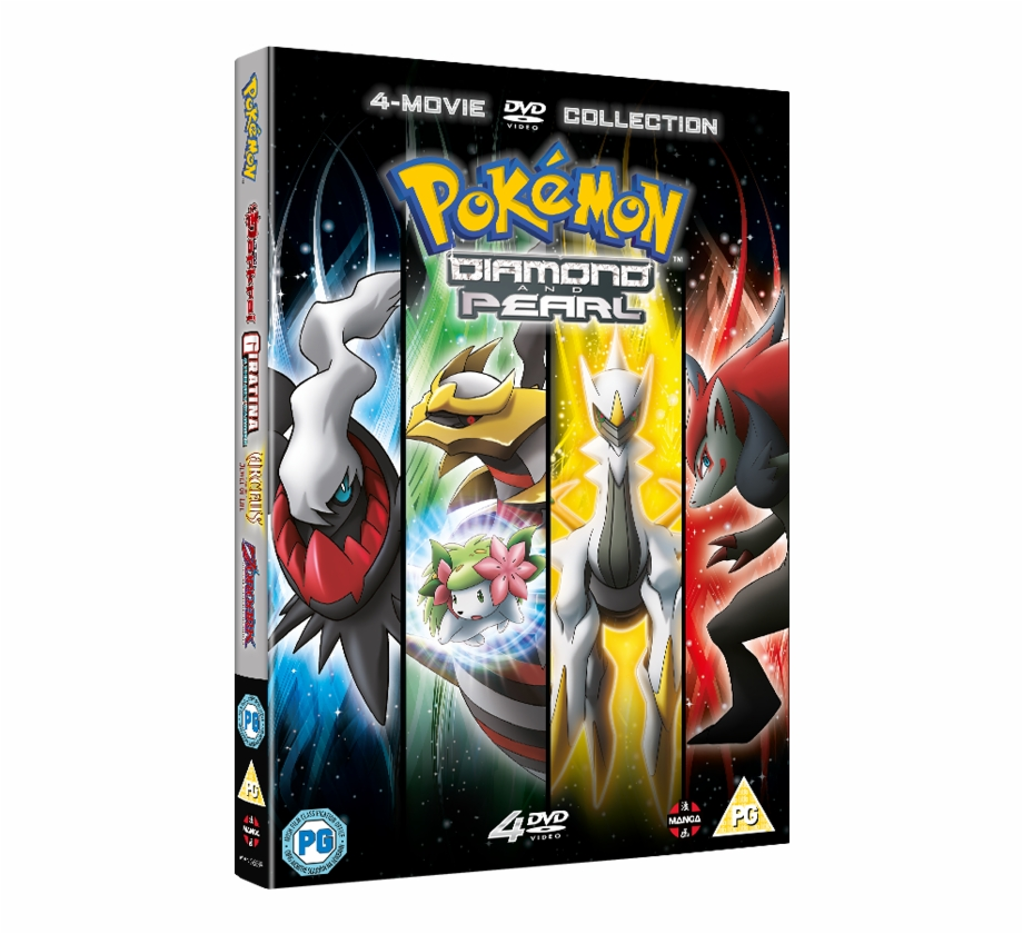 Pokemon Movie 10 13 Collection Pokemon The Rise Of Darkrai Dvd