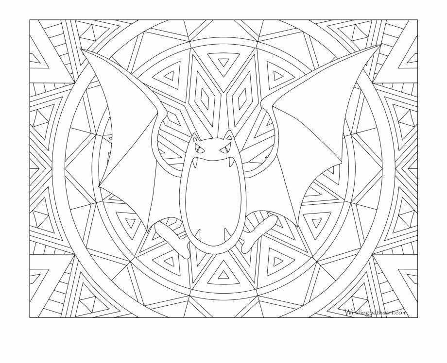 042 Golbat Pokemon Coloring Page Raikou Pokemon Coloring Pages Transparent Png Download 2508930 Vippng