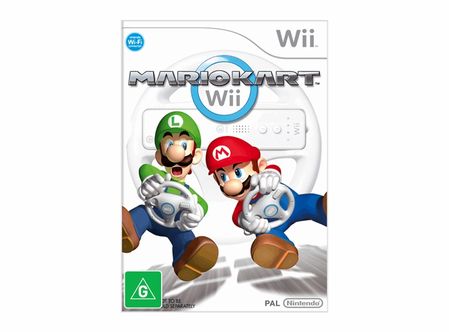 Mario Kart Wii Cover Transparent Png Download 2516113 Vippng