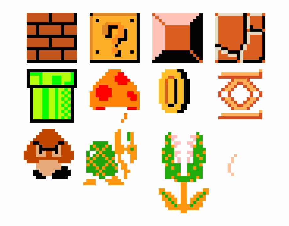 Super Mario Maker Pixel Art Mario Maker Transparent Png Download 2546671 Vippng