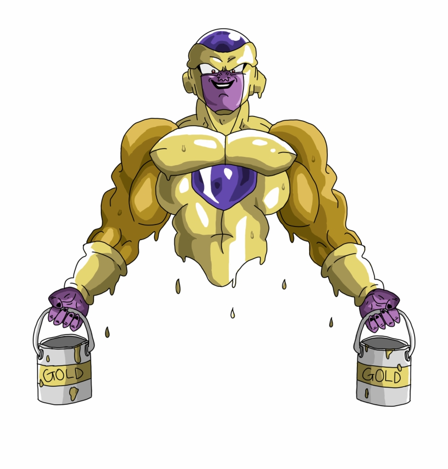 Golden Frieza Png Png Download Frieza Png Transparent Png
