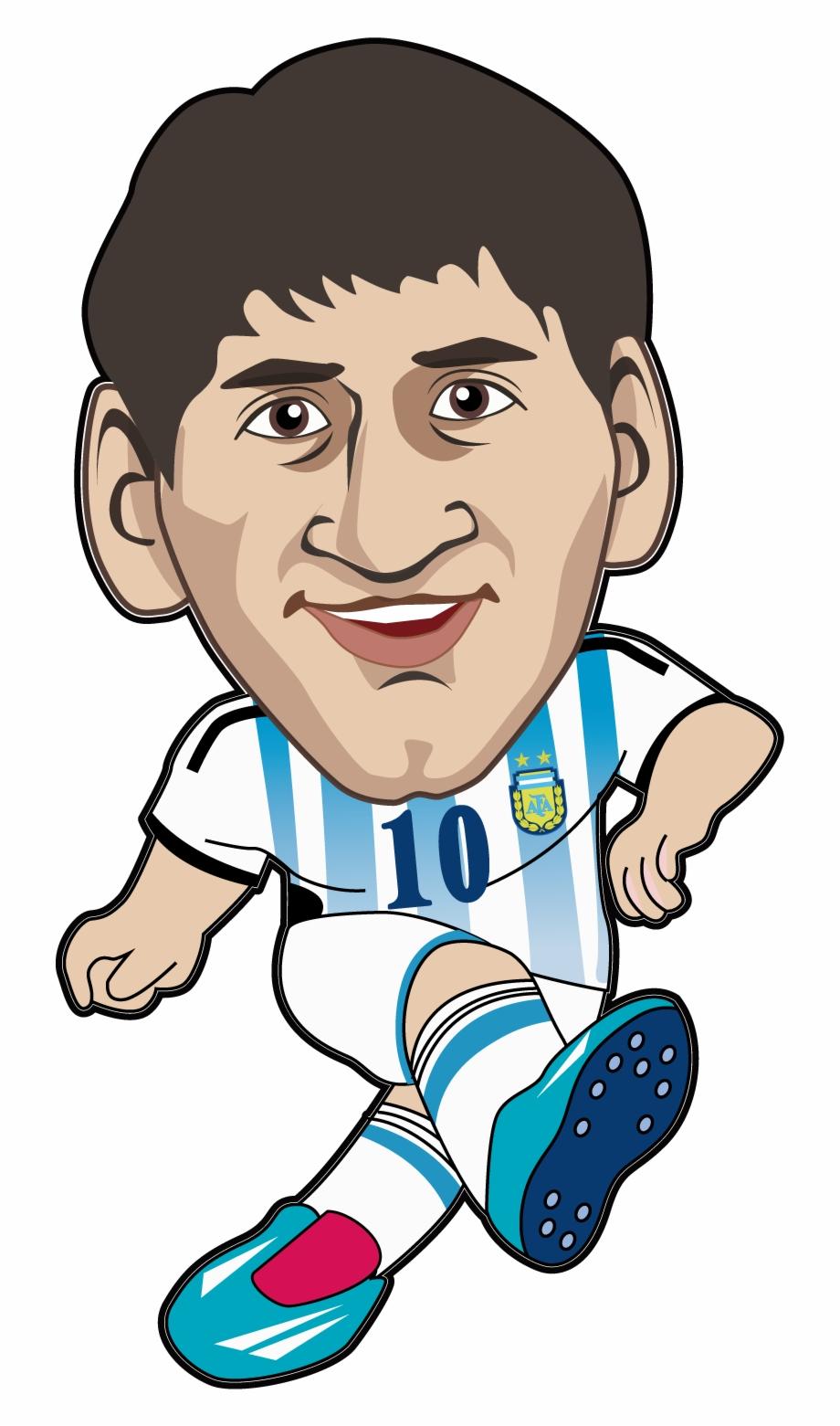 Drawing Messi Animation - Messi Animado Png | Transparent PNG ...