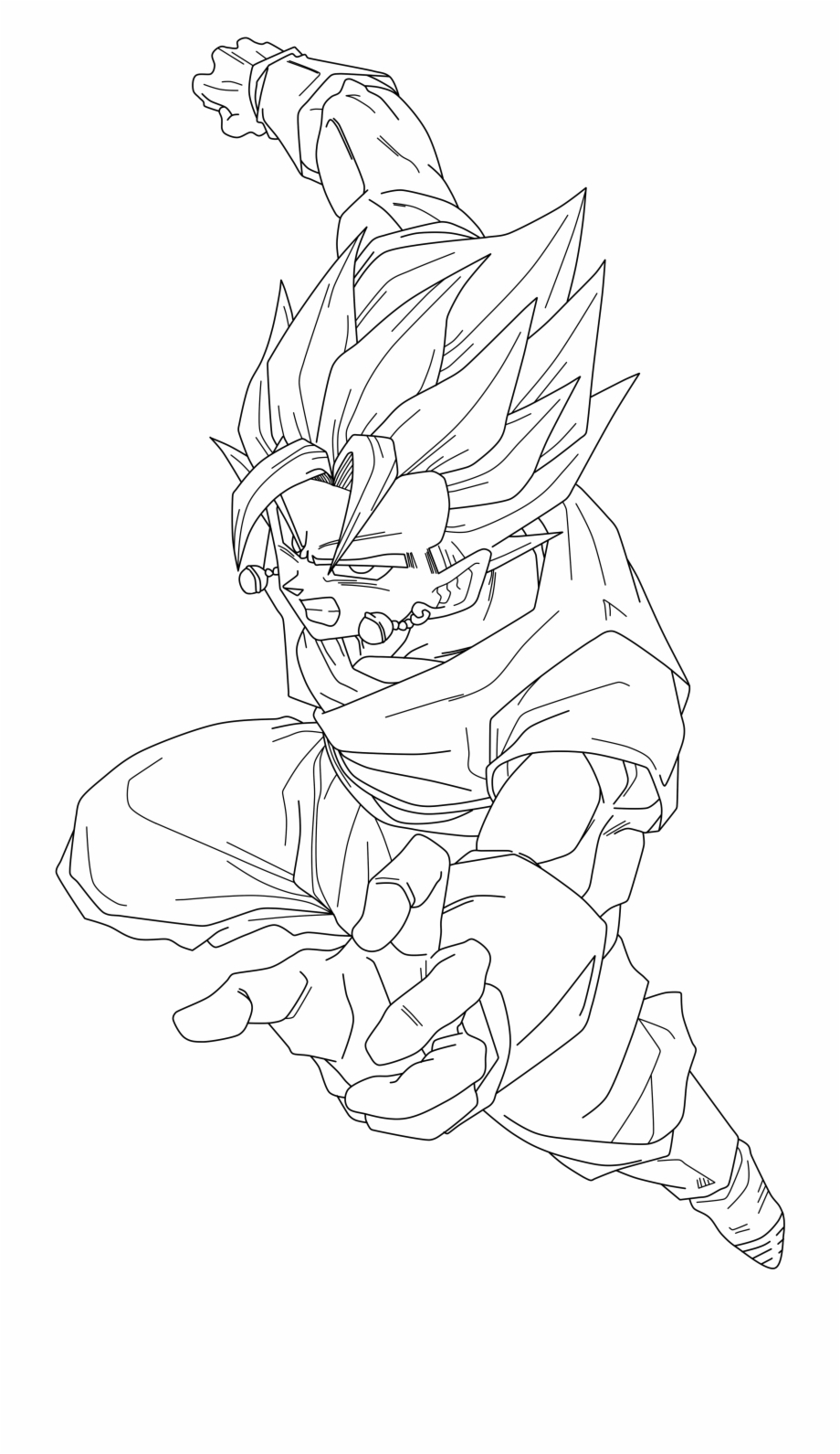 Dragon Ball Z #23 (Cartoons) – Printable coloring pages | 1591x920