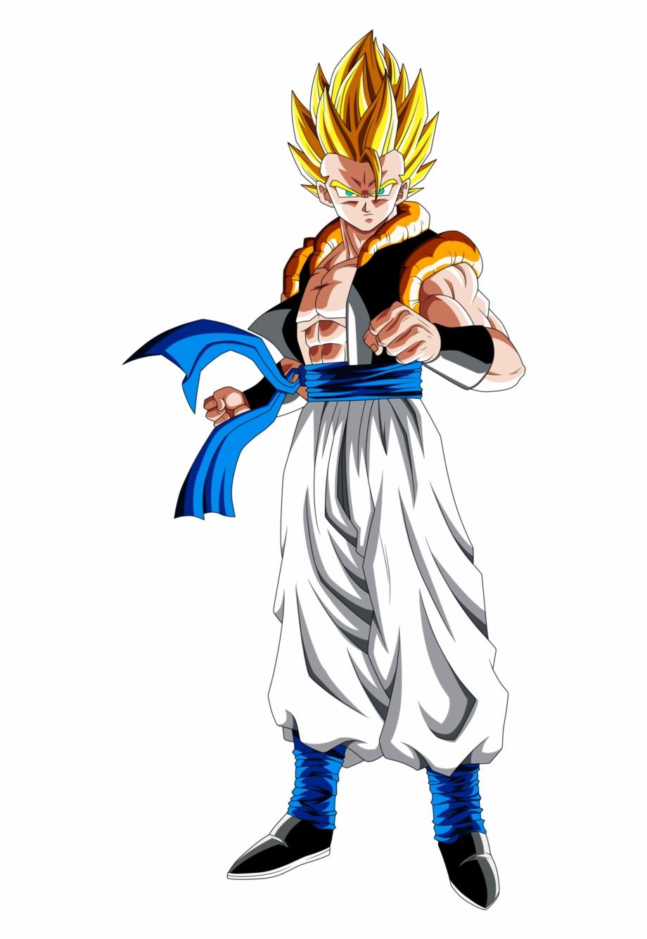 Dragon Ball Z Clipart Super Saiyan Ssj4 Gogeta Ssb Vegito