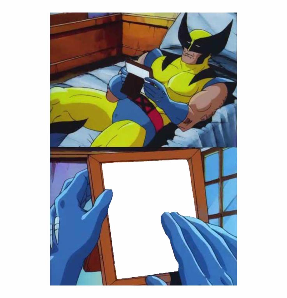 Wolverine Meme Template | Transparent PNG Download #260013 ...
