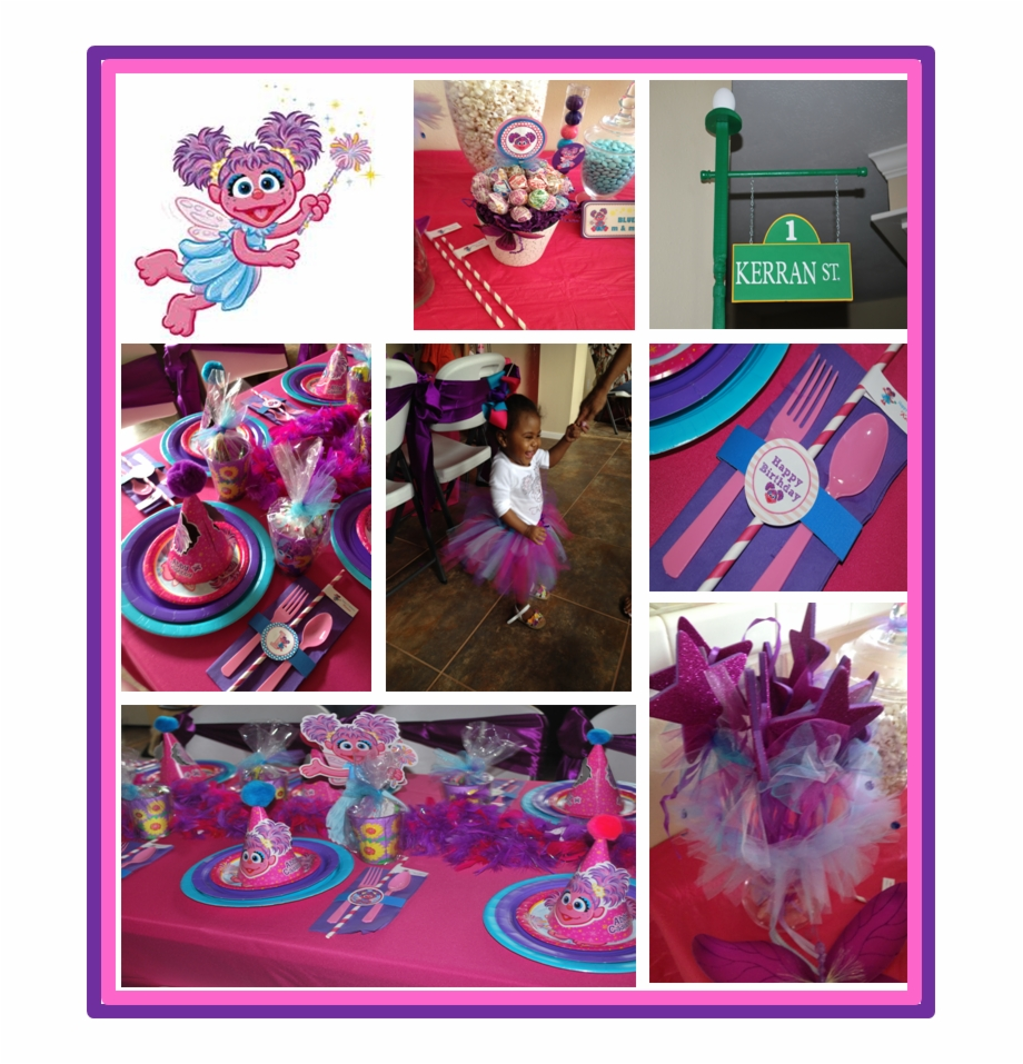 Abby From Sesame Street First Birthday Party Ideas
