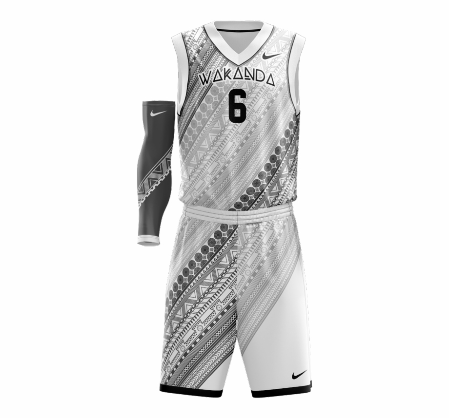 White Basketball Jersey Design Transparent Png Download 2625315 Vippng