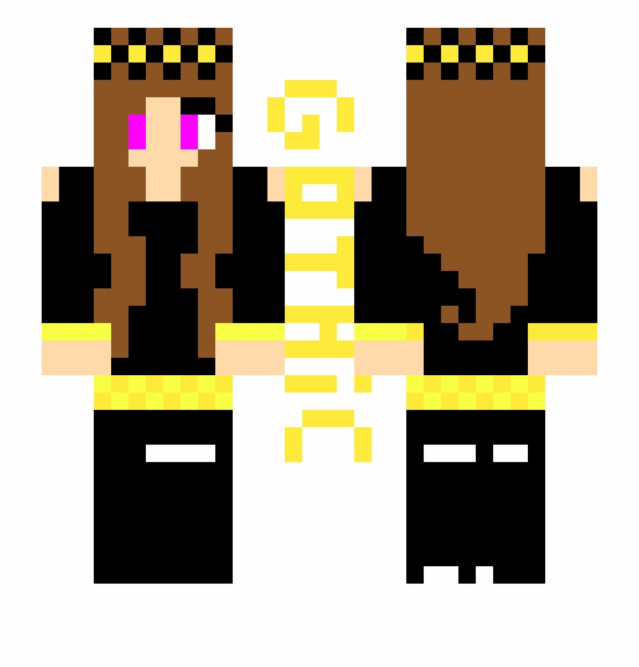 Gothic Girl Minecraft Skin Minecraft Skins Kim Possible Transparent Png Download 2658451 Vippng
