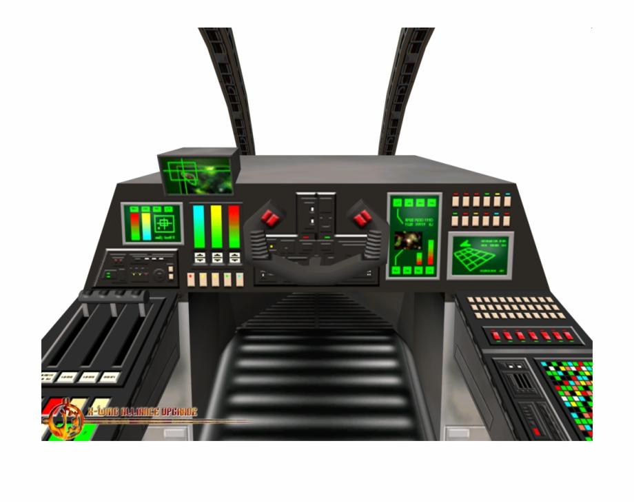 Report Rss Cloakshape Fighter Cockpit X Wing Cockpit Png