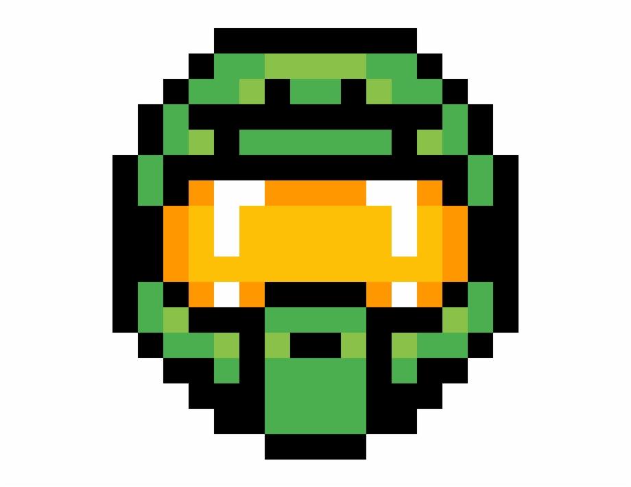 Masterchief Helmet Mana Potion Pixel Art Transparent Png