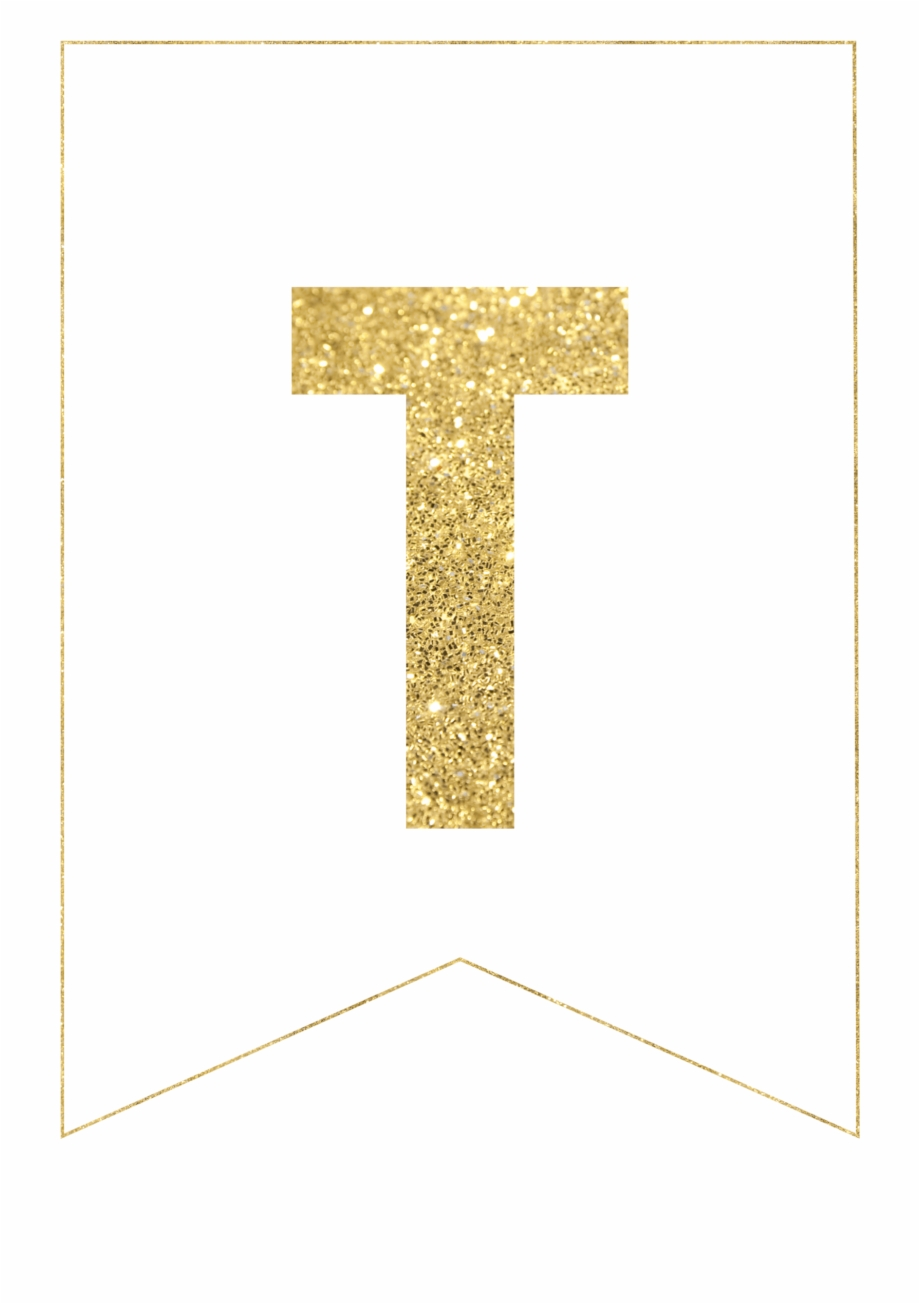 Free Printable Banner Letters, Congratulations Banner, - Gold Free With Free Letter Templates For Banners