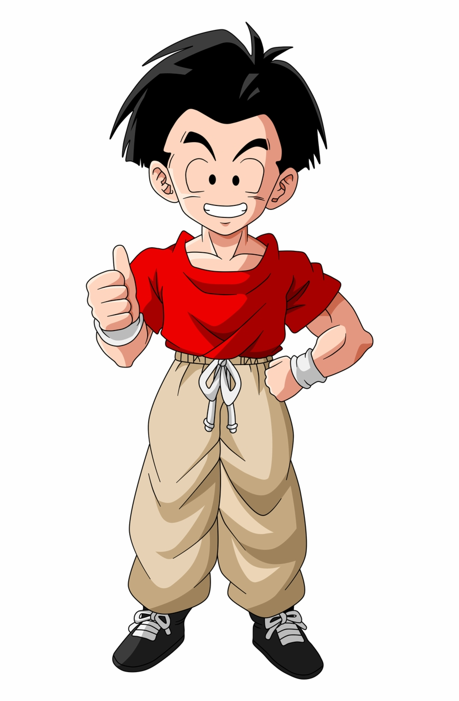 318 Kb Png Dragon Ball Krillin With Hair Transparent Png