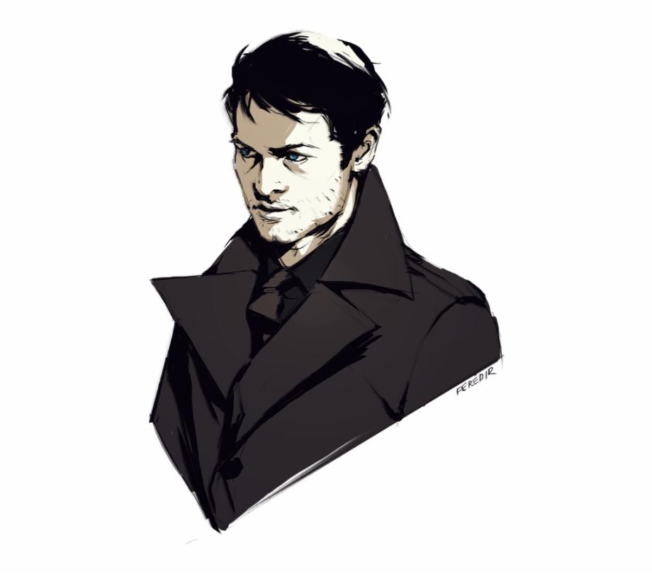 Supernatural Dean Castiel Supernatural Drawings Sam Lucifer Supernatural Fanart Transparent Png Download 2750793 Vippng