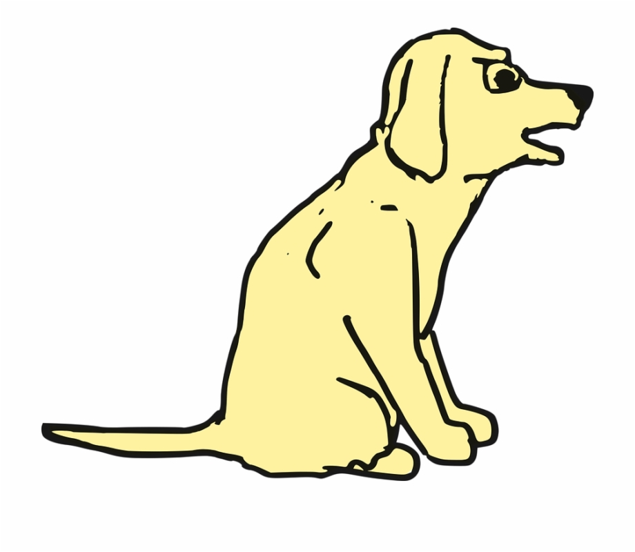Agitated Barking Cartoon Dog Transparent Png Download 2753488 Vippng