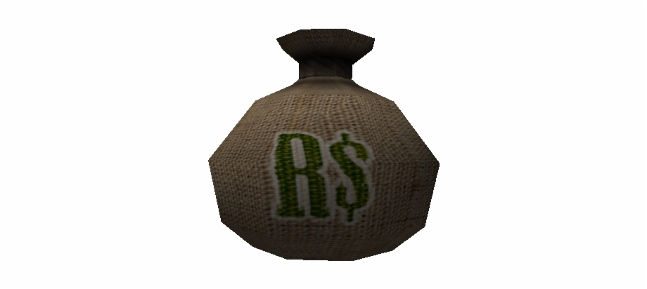 Download Zip Archive Roblox Money Bag Transparent Png Download