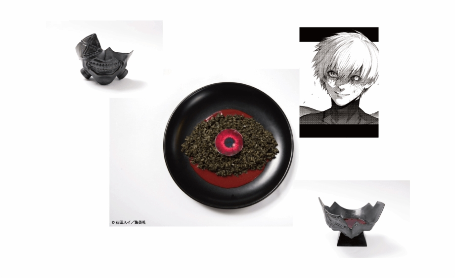 kaneki s mask curry tokyo ghoul re cafe in osaka transparent png download 2765485 vippng mask curry tokyo ghoul re cafe