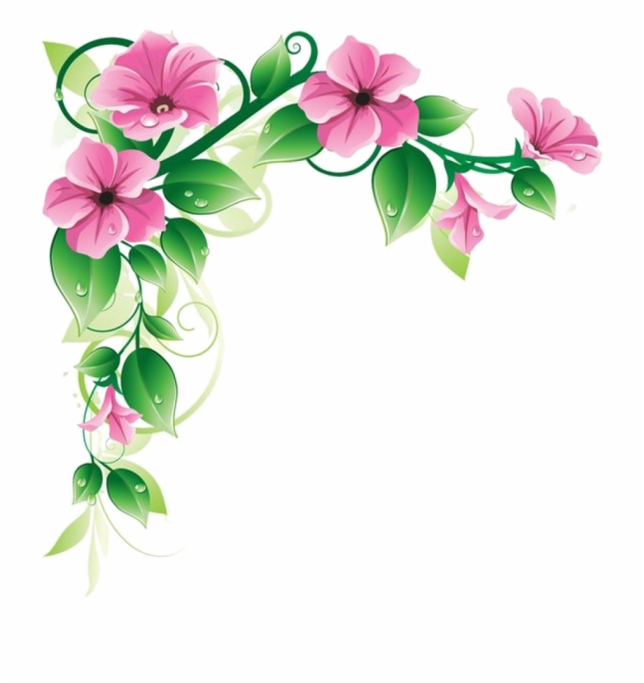 Flowers Frame Transparent Png Clipart Free Download Flower
