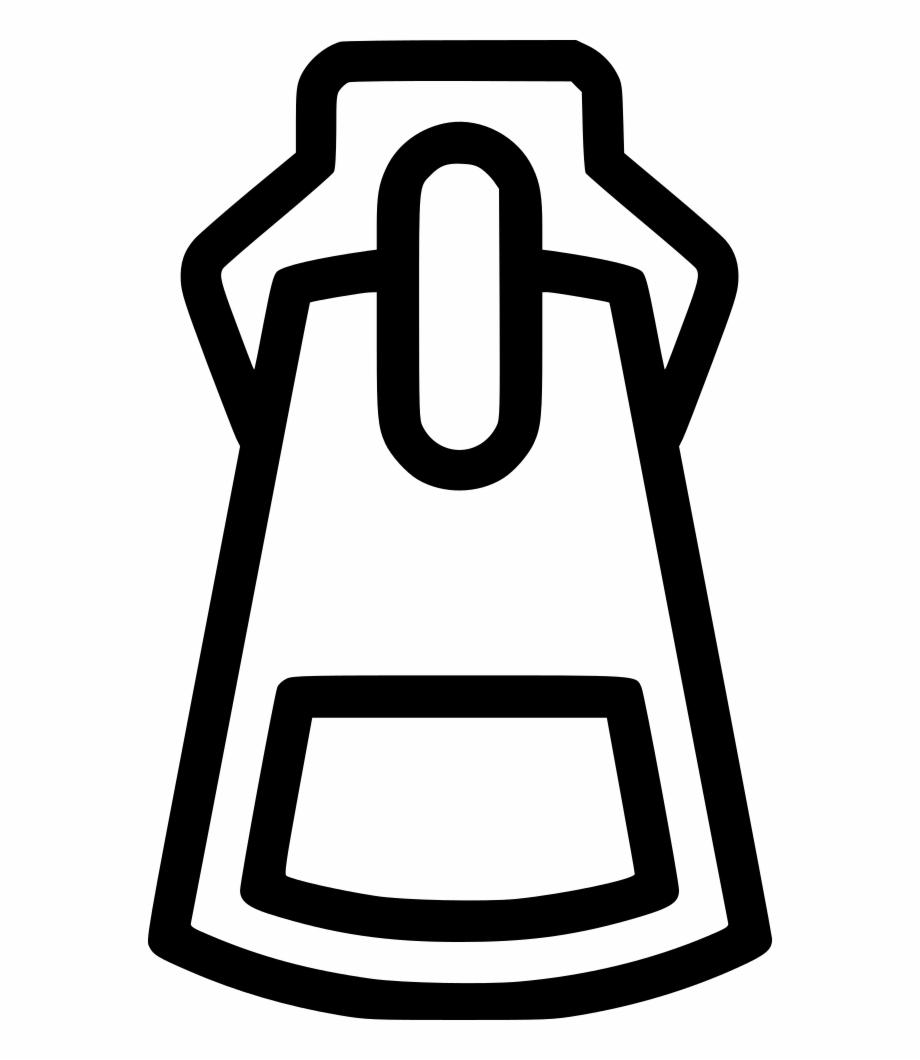 Clip Art of a Zipper