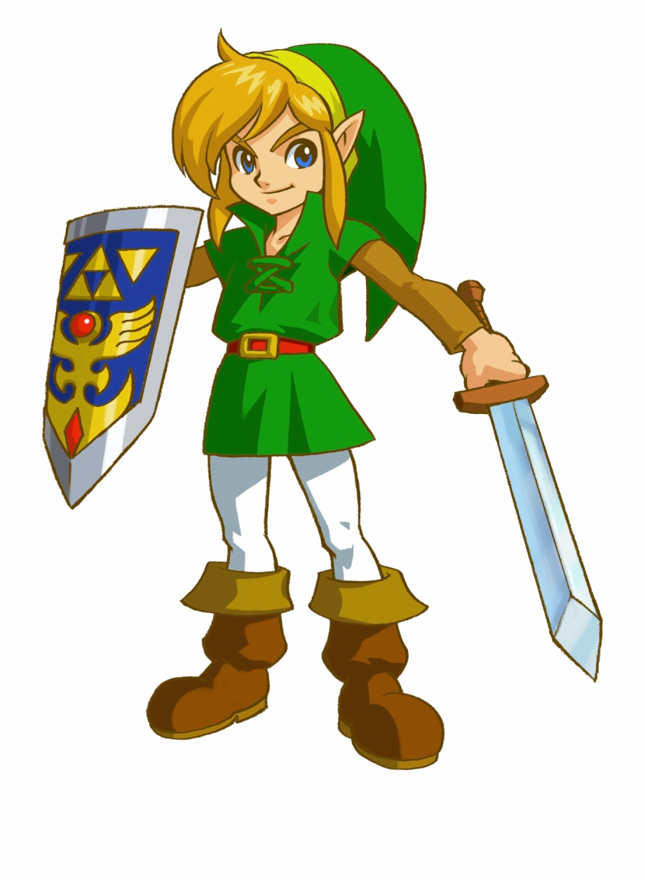 Link Wind Waker Heart Printable Coloring Page With Legend Of Zelda Oracle Of Seasons Link Transparent Png Download 2859232 Vippng