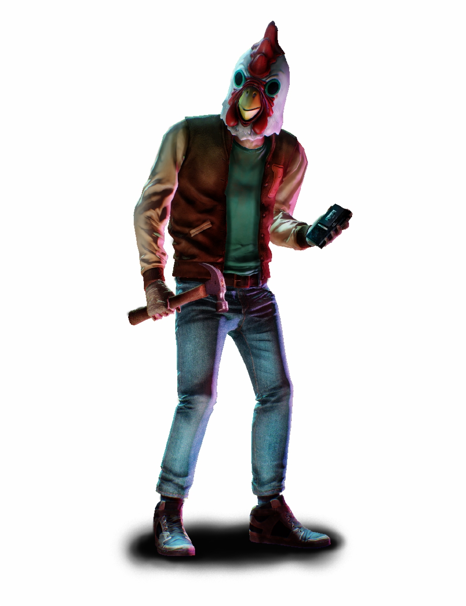 Roblox Jacket Hotline Miami How To Get Unlimited Robux Masked Hotline Miami Jacket Payday 2 Transparent Png Download 2861917 Vippng