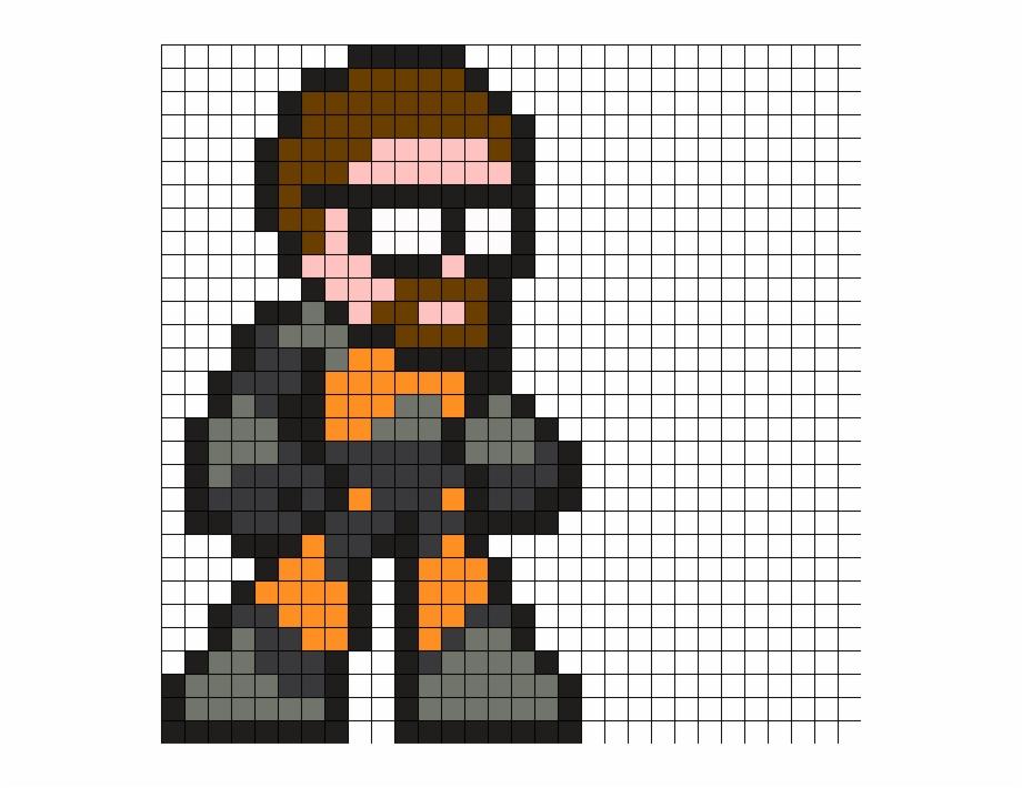 Half Life Perler Bead Pattern Half Life Pixel Art Grid Transparent Png Download 2920678 Vippng