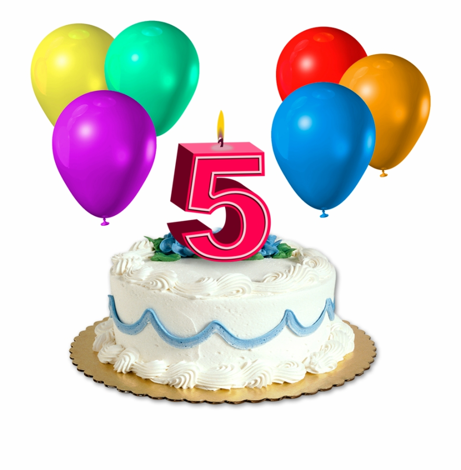 Super Happy 5Th Birthday Png Pic 5 Birthday Cake Png Transparent Png Funny Birthday Cards Online Alyptdamsfinfo