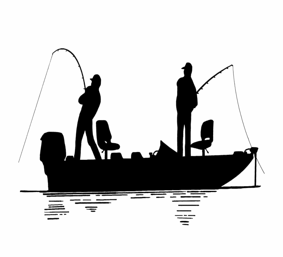Fisherman Clipart Trawler Huge Freebie Download Silhouette Fishing Boat Clipart Transparent Png Download 31776 Vippng