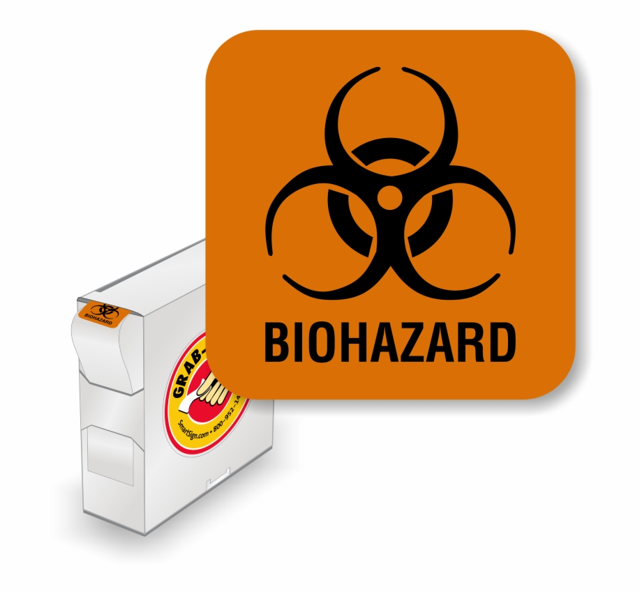 photo relating to Biohazard Sign Printable identified as Biohazard Label - Biohazard Emblem Clear PNG