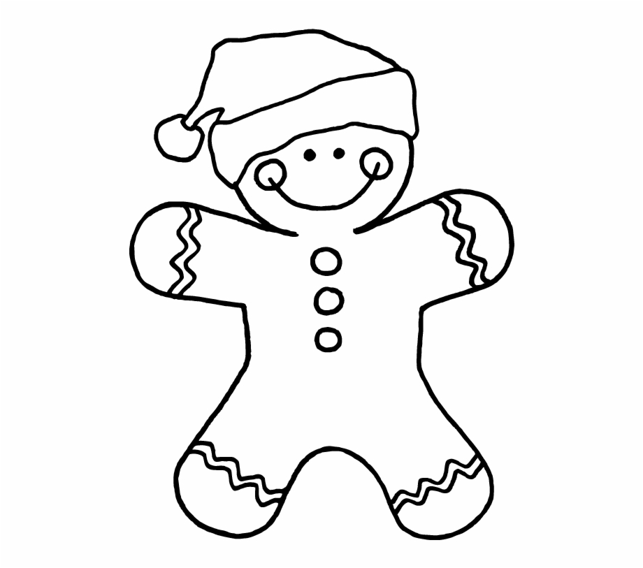 Mainstream Gingerbread Men Coloring Pages Christmas - Colour In ... | 813x920