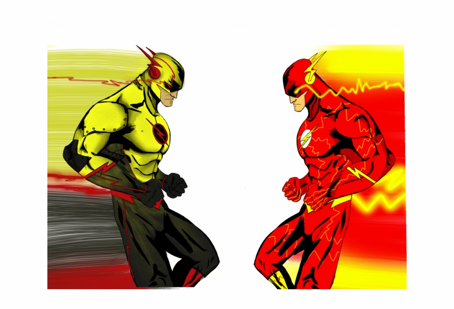 Reverse Flash Png Flash And Reverse Flash Drawings Transparent