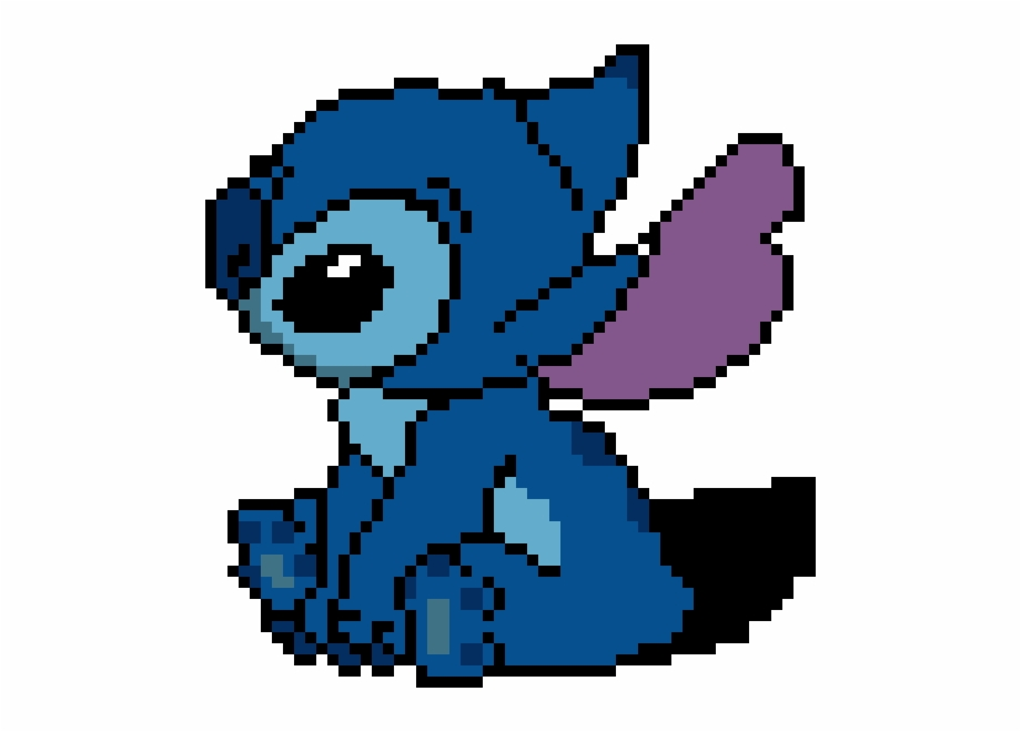 Stitch Minecraft Pixel Art Stitch Transparent Png Download 3048088 Vippng