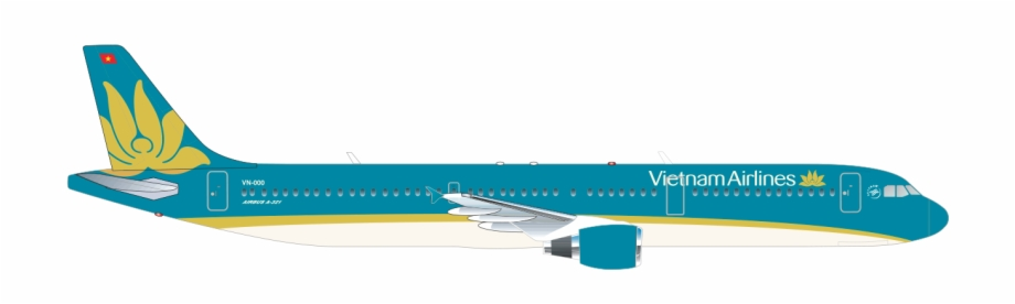 Airbus A321 May Bay Vietnam Airlines Png Transparent Png Download 3048240 Vippng