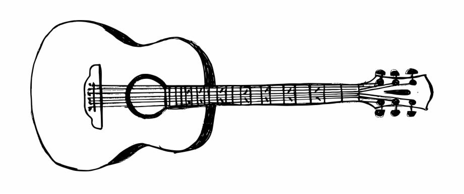 Free Download Guitar Drawing Transparent Background Transparent Png Download 314400 Vippng