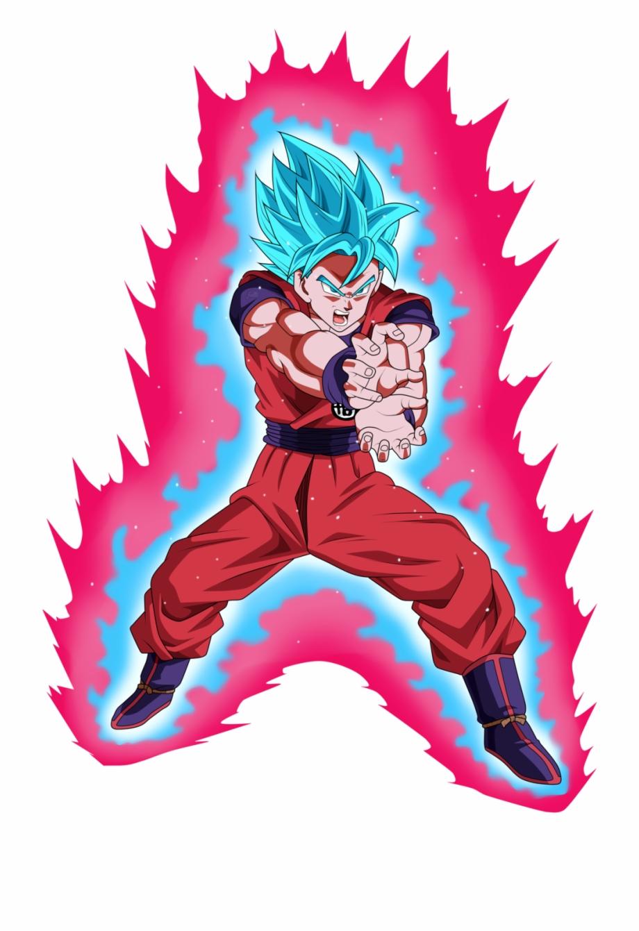 Goku Clipart Super Saiyan God Imagenes De Goku Ssj Blue Kaioken