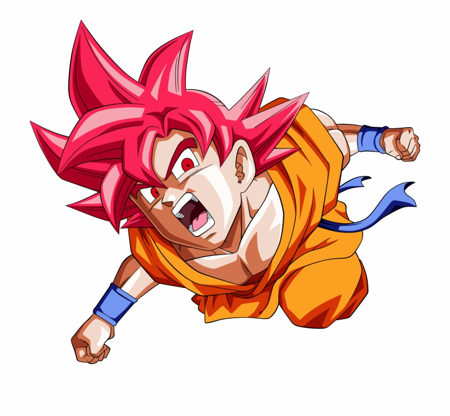 16 4k Ultra Hd Super Saiyan God Wallpapers Goku Ssj God Hd Transparent Png Download 319414 Vippng