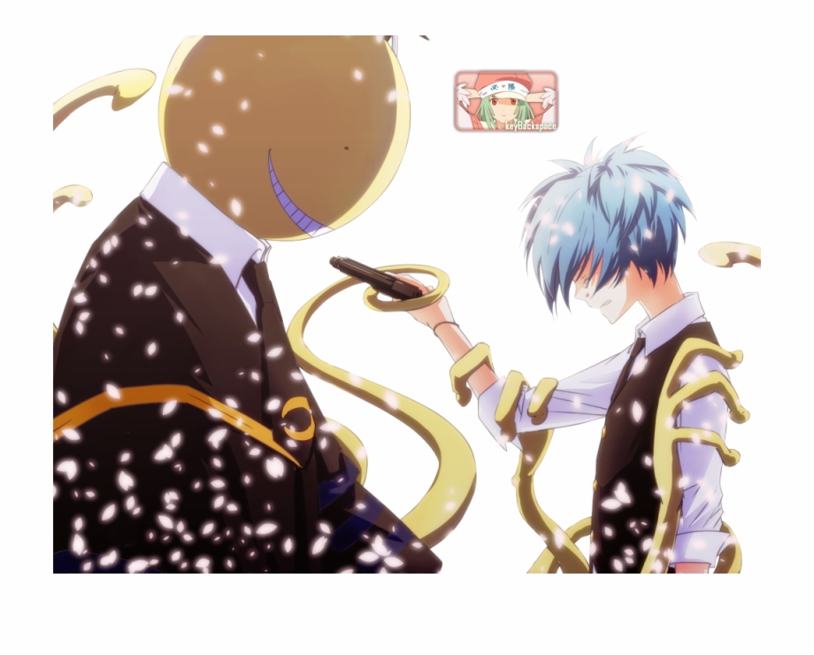 Ansatsu Kyoushitsu Wallpaper Cute Assassin Anime Png Nagisa And Koro Sensei Transparent Png Download 319829 Vippng