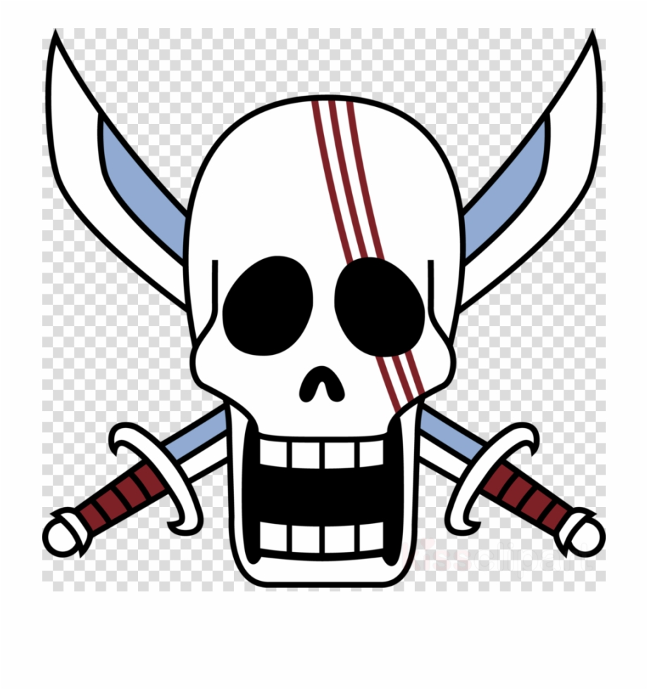 Download Jolly Roger One Piece Clipart Shanks Monkey One Piece