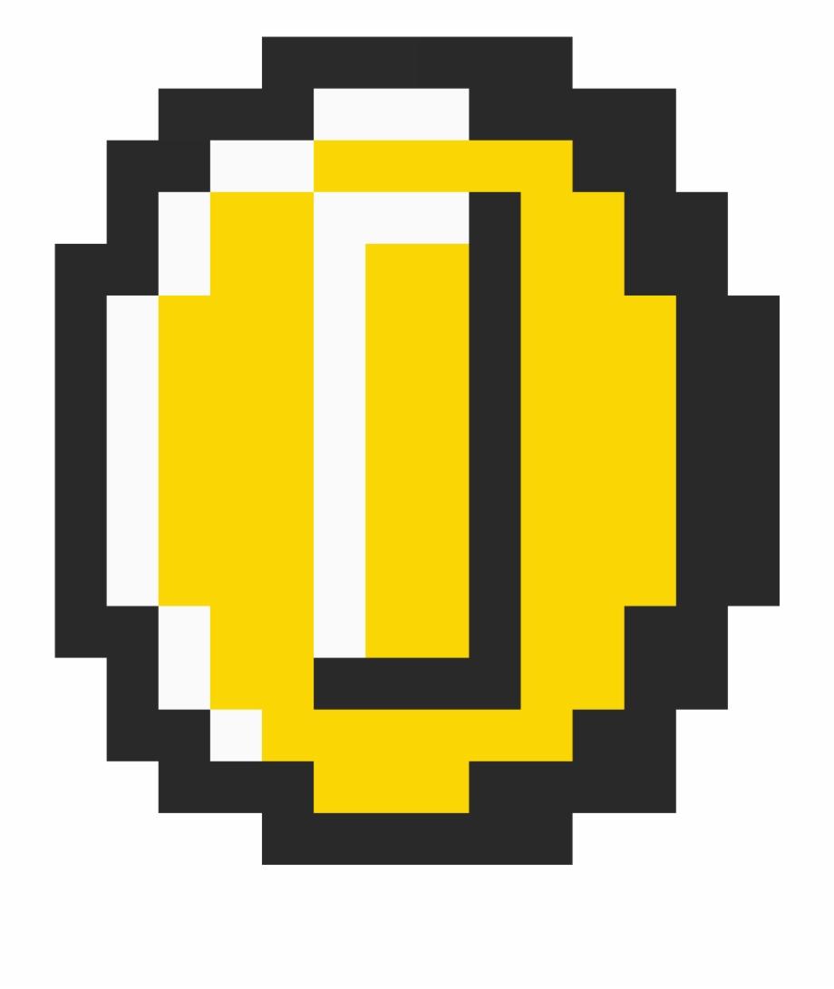 Pixel Coin Png Super Mario Bros 3 Coin Transparent Png