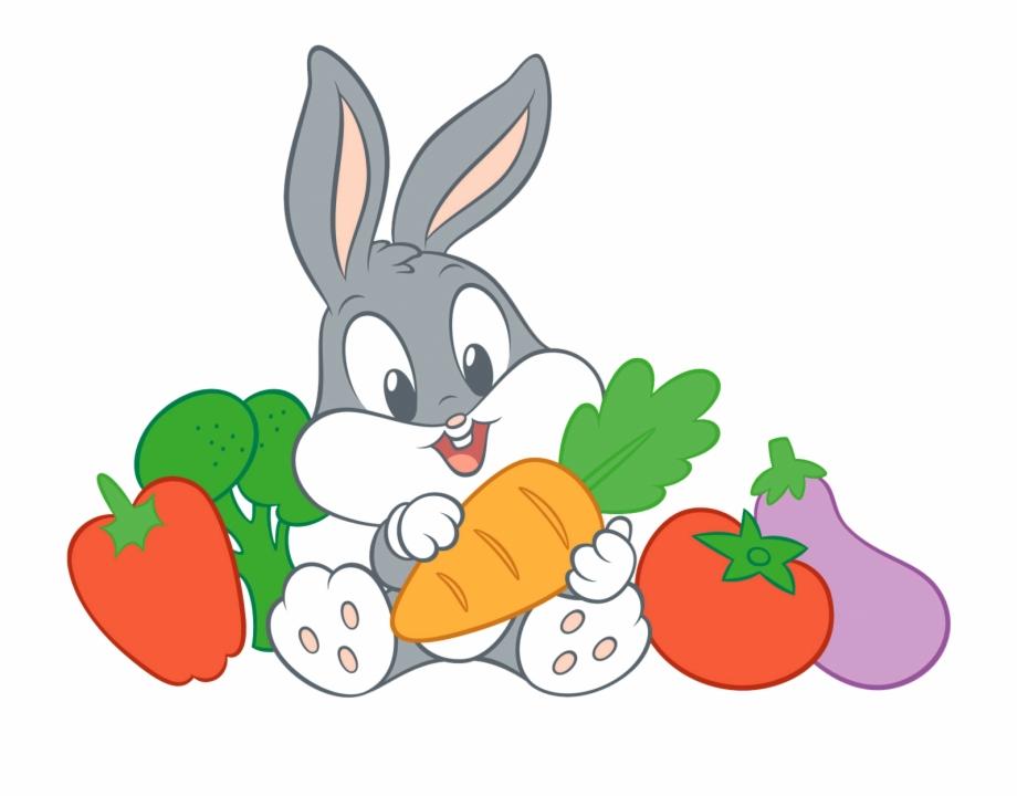 Coloriage Bebe Bugs Bunny Imprimer Looney Tunes Bebes