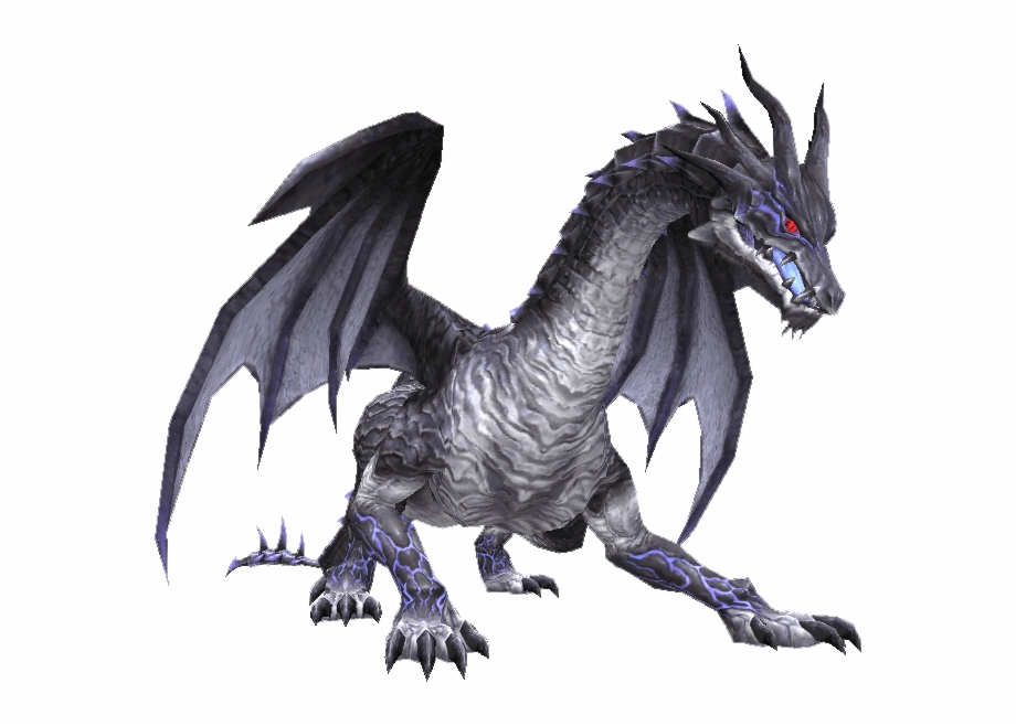 Gray Fire Breathing Dragon Transparent Png Download
