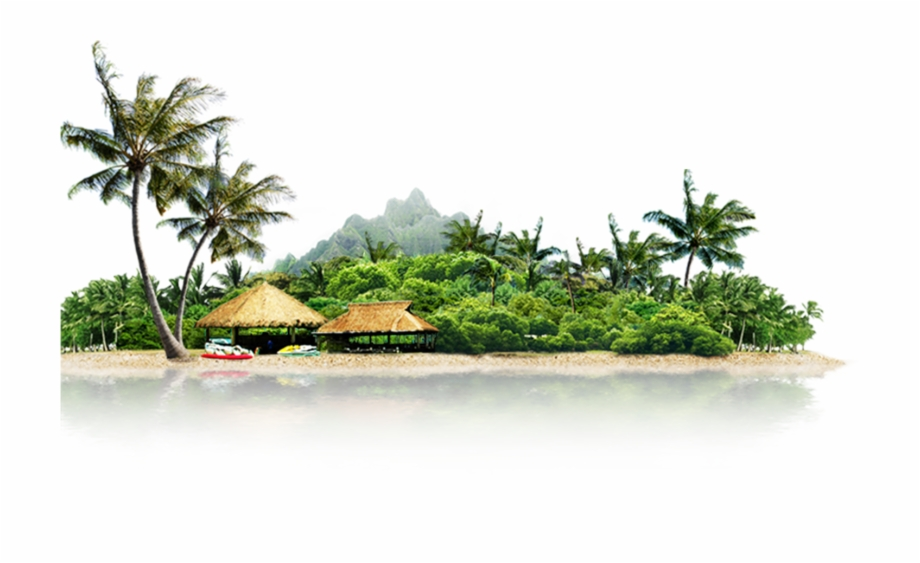 Summer Island Vacation Icon Landscape Cool Image Category