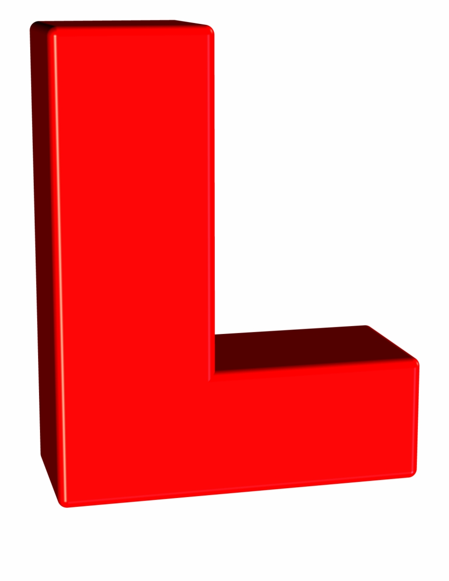 Download 3D L Letter
