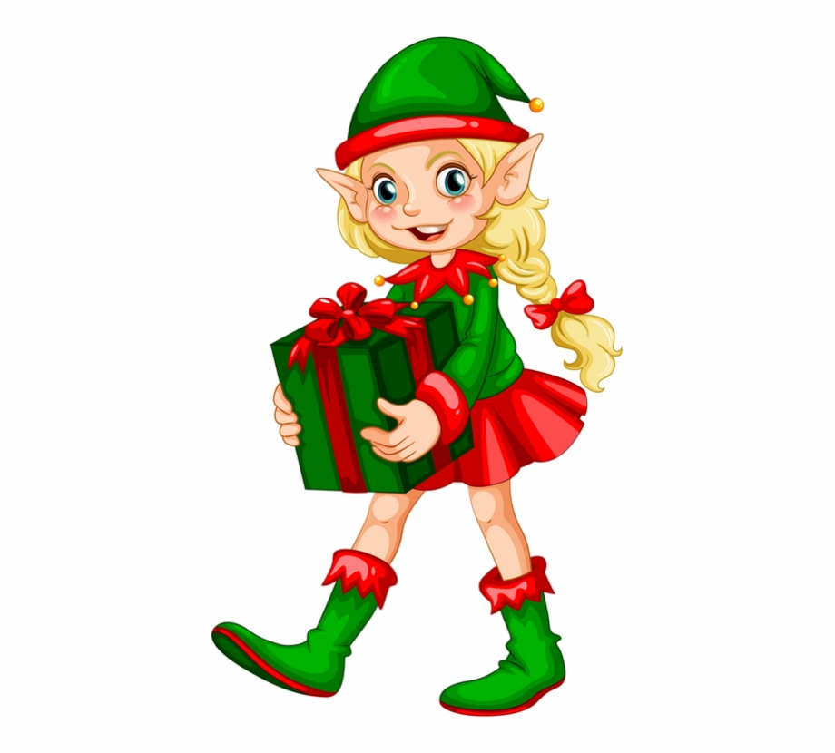 Free Christmas Elf Clipart Transparent Png Download 3216375 Vippng